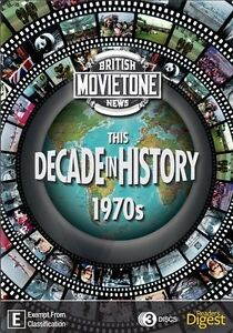 THIS DECADE IN HISTORY - THE 1970'S..3 DISC BOX SET...REG 4...NEW & SEALED