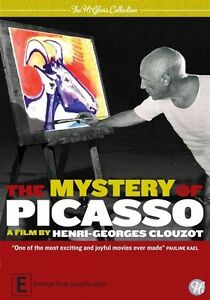 The Mystery of Picasso - Pablo Picasso NEW R4 DVD