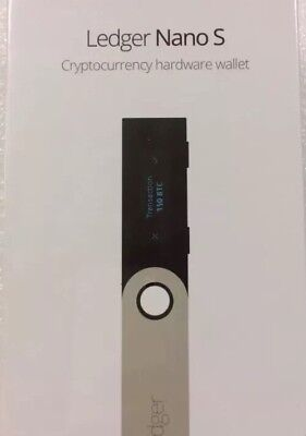 Ledger Nano S Bitcoin Ethereum Crypto Wallet Authorized Reseller   New In Stock