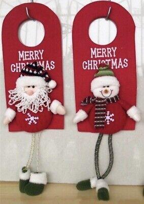 """Decorazione Casa Natale 29x13,5 cm Fuoriporta Natalizio """"Babbo Natale"""""""