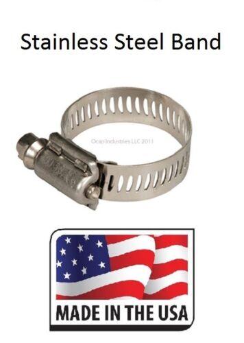 TRIDON LEGION HOSE CLAMPS 10 Pc #6 MINI 300-006 / SC-06 MADE IN USA 5/16 ~ 7/8