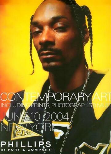 Phillips Contemporary Art Prints & Photographs Warhol Auction Catalog June 2004