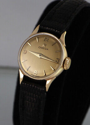 OMEGA Watch, 9k 9ct Solid Gold, Pristine Cond, Fully Serviced, 6m Warranty -1529