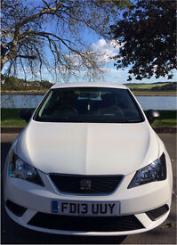 SEAT Ibiza Hatchback 2013 MK4 Facelift 1.2 S SportCoupe 3 Door White Air Con Full Service History
