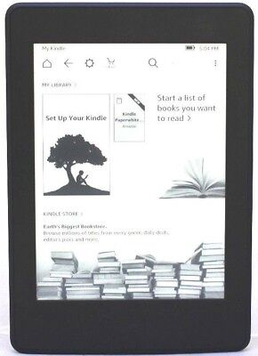 Amazon Kindle Paperwhite 3 (7th Generation) 300 PPI 4GB Wi-Fi - Black  50-5A