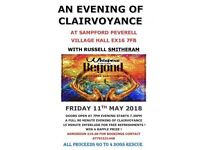 Evening of Clairvoyance 11th May 2018