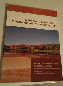 Supply Chain and Operations Management