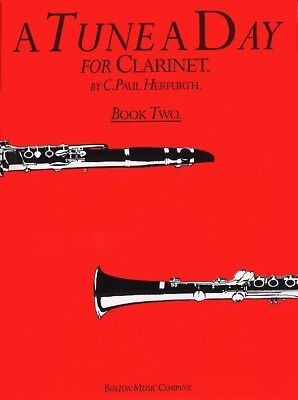A Tune a Day for Clarinet, Book 2