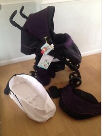 Silver cross travel system, a year old good condition.