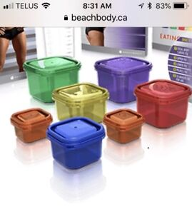 Beach Body Food Containers