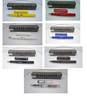 5 COLOURS LAMY SAFARI  FOC 2pcs INK and 1pc Converter (1 PEN SALE ONLY)