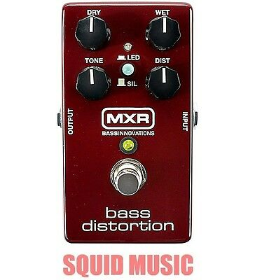MXR Dunlop M85 Bass Distortion Effects Pedal Silicon Diodes M-85 (OR BEST (Best Bass Guitar Effects Pedals)