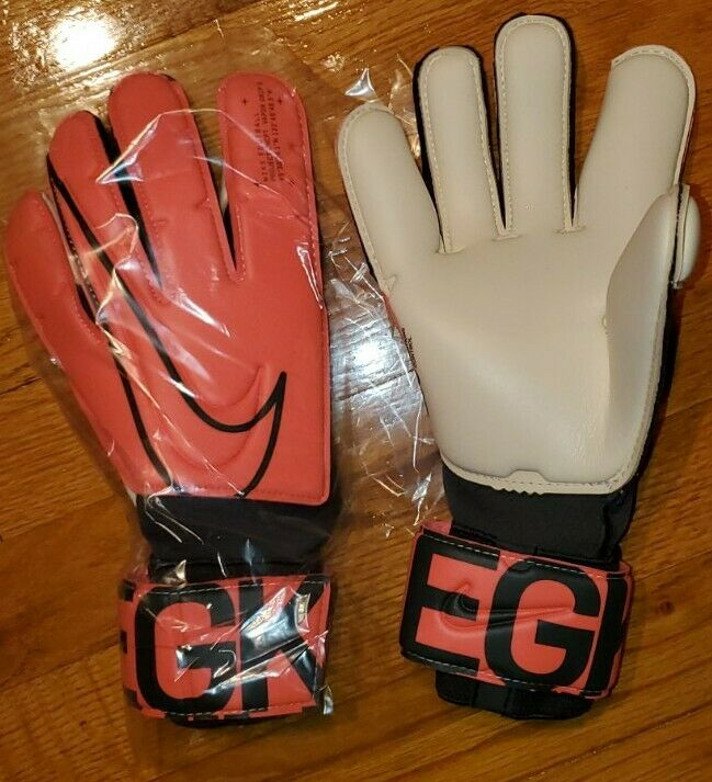 $130 NIKE GK VAPOR GRIP 3 Soccer GOALIE GLOVES Mens 9 ACC futbol goalkeeper pro