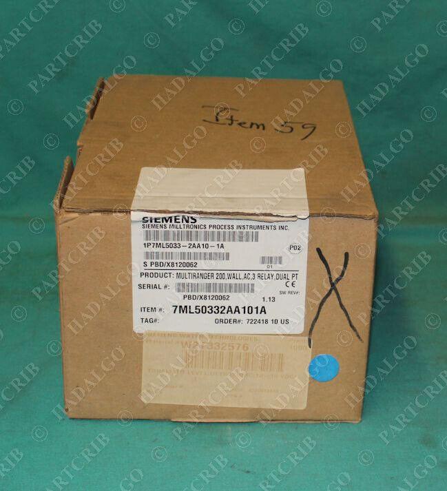 Siemens, 7ML5033-2AA10-1A, Milltronics MultiRanger 200 Controller NEW