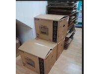 FREE Cardboard boxes + Polystyrene must take both