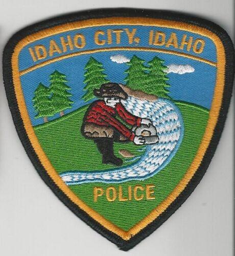 Prospector Idaho City Police State ID Scenic