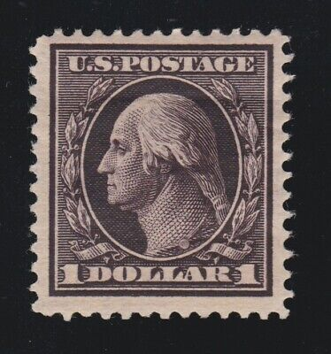 US 342 $1 Washington Unused VF OG H SCV $450