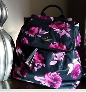 Kate Spade Molly  floral back pack