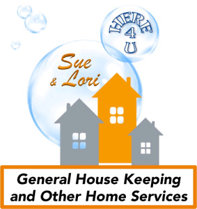 SUE & LORI General House Keeping and other in home services