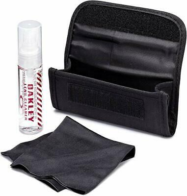 OAKLEY Lens Cleaner Cleaning Kit Spray Eyeglasses Sunglass Cloth Purse Travel (Sunglass Cleaner)