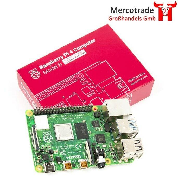 Raspberry Pi 4 Computer Modell B 2GB RAM Desktop Starter Kit