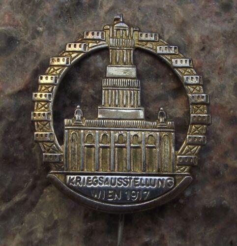 1917 Wien Kriegsausstellung World War 1 One Propaganda Fair Exhibition Pin Badge