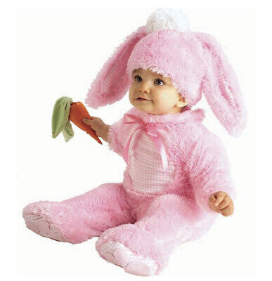 Infant Pink Bunny Rabbit Halloween Costume Size 0-6 Months New With Tags