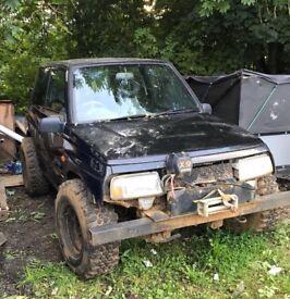 Suzuki vitara 4x4 off roader