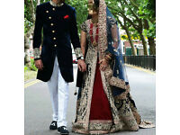 Beautiful Traditional Asian Wedding Dress - Bride (Size 8-10)
