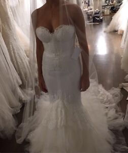 Designer wedding dress, Robe de mariée signé
