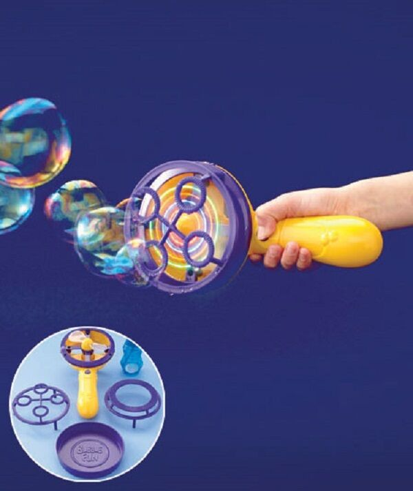 LIGHT-UP MOTORIZED BUBBLE MAKER
