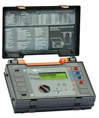 Sonel Mmr-630 Micro-ohmmeter 10a Low Resistance Ohmmeter Dlro