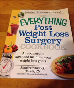 Gastric Bypass info/recipe books, pair for $15