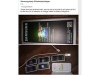 Samsung galaxy s5 batteries/charger