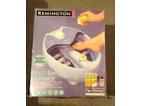 REMINGTON FOOT SPA - NEVER USED