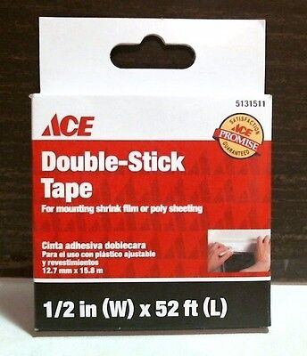 Ace 04628 Double Stick Tape 12 X 52 5131511 Free Shipping