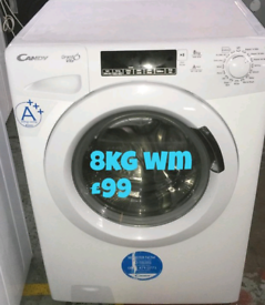 Candy 8kg washing machine free delivery in derby