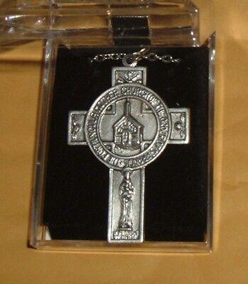 PORTIUNCULA PENDANT RARE  Franciscan St Saint Francis Lady of Angels Church NEW