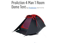 4 Man Dome Tent - used once! RRP £30