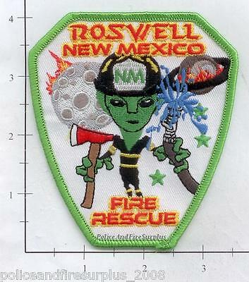 New Mexico - Roswell Fire Rescue NM Fire Dept Patch