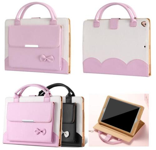 Ipad Mini Case - Lovely Handbag Leather Magnetic Smart Cover Case for iPad 2 3 4 Air Mini Pro 9.7