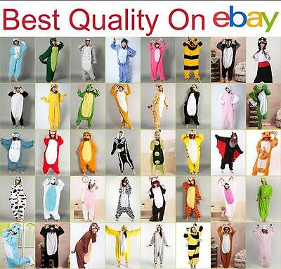 New Unisex Adult Pajamas Kigurumi Anime Cosplay Costume Animal Sleepwear - Anime Cosplays