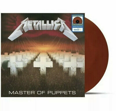 METALLICA MASTER OF PUPPETS LP Walmart Exclusive Battery Brick Vinyl NEW SEALED!