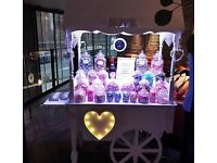 Sweet cart hire in Hertfordshire. Best prices guaranteed.