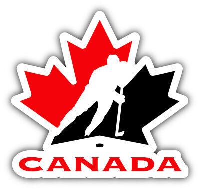 Canada Hockey Association Logo Car Bumper Sticker Decal - 3'' or 5''
