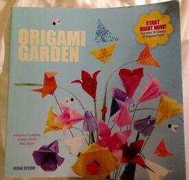 Origami garden book
