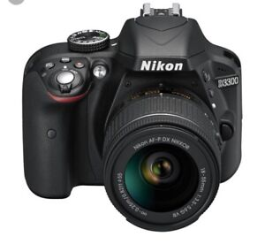 Nikon 3300 with kit lens