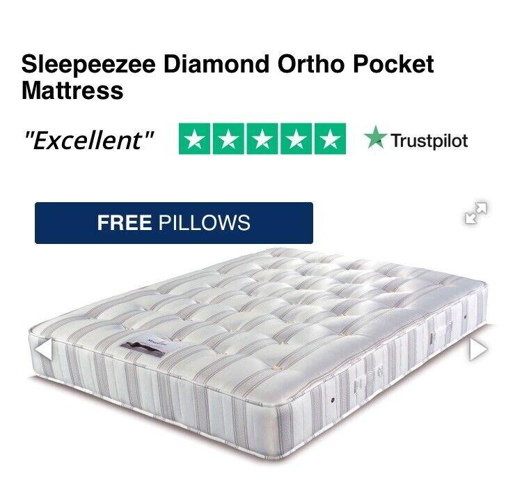 Sleepeezee Diamond Ortho Pocket Mattress