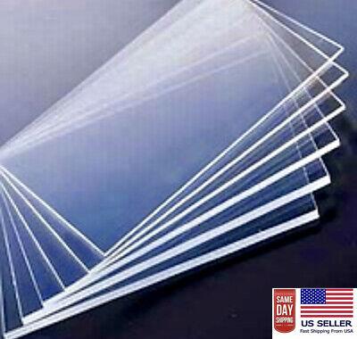 Lexan Sheet - Polycarbonate Clear 24x 48 4mm .157
