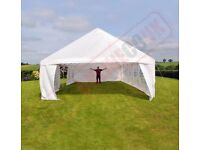Heavy duty 12m x 6m marquee - brand new and free extras!